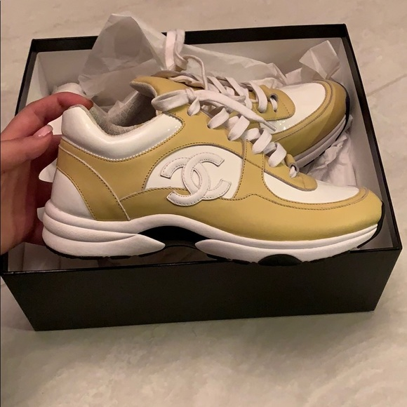 Worn Chanel Sneakers Size